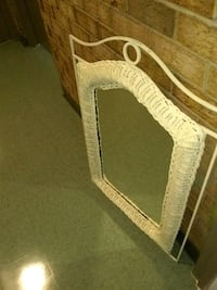 wicker and metal framed mirror Alexandria, 22306