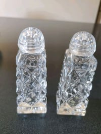 Crystal Salt and Pepper Shaker Set! Vaughan, L4J 7T5