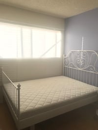 Queen Bed frame and mattress ! Santa Monica, 90405