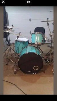Drums with new skins