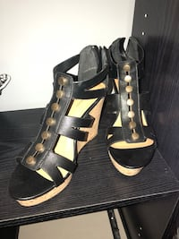 Studded gold wedge sexy cork sandals - new Laval, H7K 3X4
