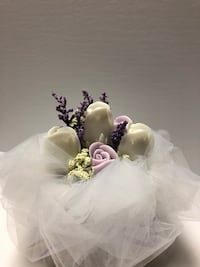 Handcrafted soap bouquet