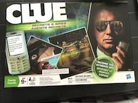 Clue board game.  Played once. Excellent condition. Smoke and pet free environment  Innisfil, L9S