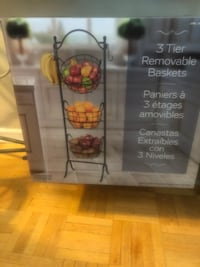 3 tier removable baskets  Mississauga, L4Y 2N9