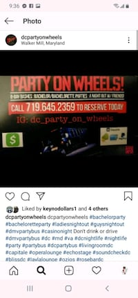 Do better party bus services  Washington