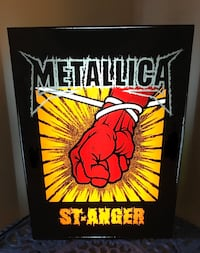 Metallica Light Box