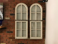 Window and Shutter Display, Country Chic $100 each OBO