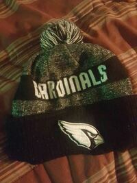 gray and black Cardinals printed text beanie Glendale, 85301