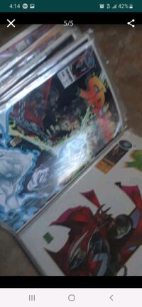 Spawn comics book collection