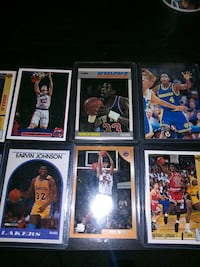 Basketball cards panini, upper deck, sky box