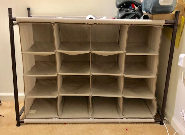 Better Homes 4 Tier 16 Pair Shoe Organizer Move Out Should Go Asap
