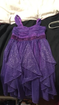 children's purple sleeveless dress Airdrie, T4B 2S8