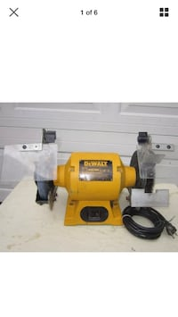 "Dewalt 6"" table grinder Hyattsville, 20785"