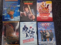 Month Python & the Holy Grail / Robin Hood /Blazing Saddles / Hot Shots / Spies Like Us / Monthy Pyton & The Meaning of Life Chicago