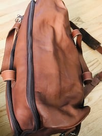 Highest quality TICA leather traveling bag, large with lots of room! Silver Spring, 20904