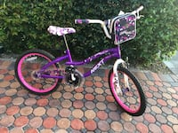 Girls bike size 20 Miami