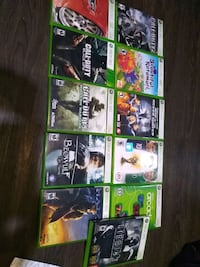 Xbox 360 games best offer for single or bunch Kitchener