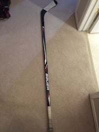 black, white, and red Bauer ice hockey stick Edmonton, T6L 1Z3