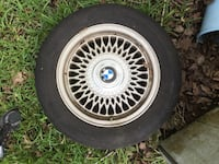 BMW multi-spoke car wheel with tire from e36 North Charleston, 29420