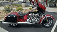 2015 Indian Motorcycle® Chieftain® Indian Red/Thunder Black