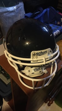 Black and white schutt football helmet Courtice, L1E 2A2