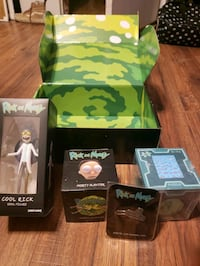 Rick and Morty collectable item