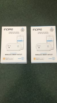 Incipio Wireless Smart Outlet - works with Apple HomeKit Lincoln, 68521