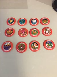 1050 Chum zodiac buttons from the 70s Vaughan, L4H 2S7