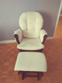 Rocking Chair with Ottoman Boisbriand, J7H