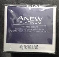 Avon Anew Platinum Firm and Sculpt Cream for Neck and Chest Richmond Hill, L4B 4T8