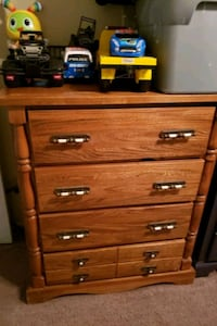 brown wooden 4-drawer chest Woodbridge, 22193
