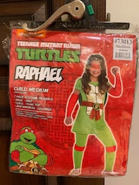 Kids Ninja turtles costume size medium Pharr, 78577