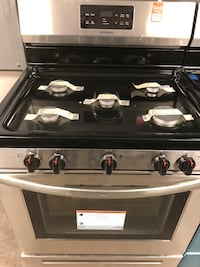 New Discounted Range Stainless 5 Burner Stove Oven 1yr Manufacturers Warranty  Gilbert, 85233