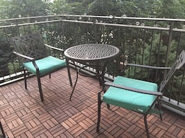 Outdoor Patio set, table and 2 chairs