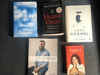 books! prices negotiable Toronto, M4G 3C1