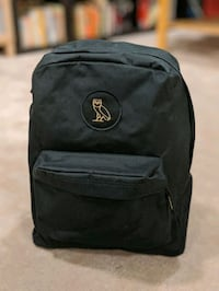 Black OVO backpack