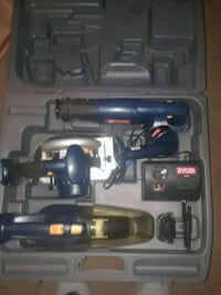 black and blue cordless power drill with case Fayetteville, 28311
