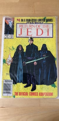 Star Wars vintage comic book  Los Angeles, 90034