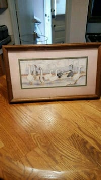 Home interior geese picture.