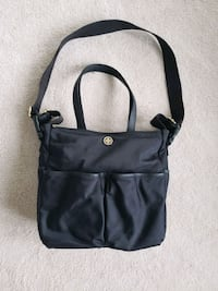 Tory Burch 'Dena' black baby bag Whitby