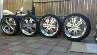 22inch rims for sale new tires Elk Grove, 95624
