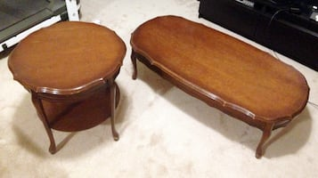 Vintage  Coffee & End Table Set
