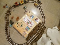 brown and gray train rails toy set Frederick, 21701