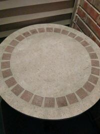 Mosaic patio /outdoor table very sturdy...