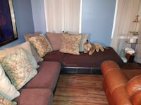 Couch leather and cloth Johns Creek, 30022