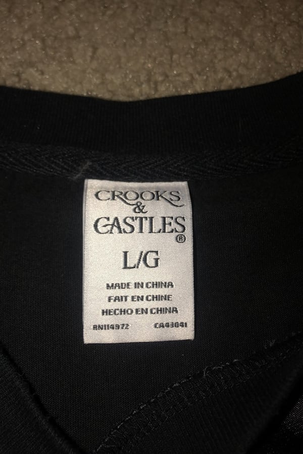 Crooks and Castles T-shirt cf4f25e2-0a11-4757-bb6e-01efde73b857