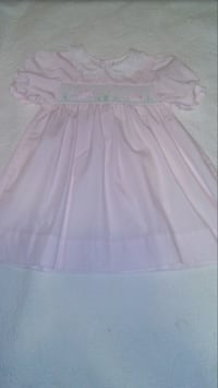 Petit Ami Smocked Easter Bunny Dress Size 18 months Moody, 35094
