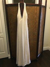 Size 8 White beaded Prom/wedding dress Westminster, 21157
