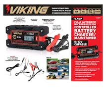 Viking automatic microprocessor battery charger/ maintainer