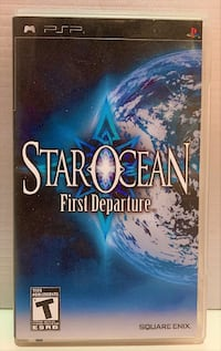 PSP Game - Star Ocean: First Departure